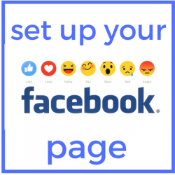 Set up your Facebook page